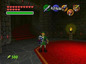 The Legend of Zelda - Image: ZELDA OCARINA OF TIME 2