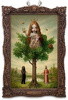 "Image of Ryden's 2007 painting, ""The Tree of Life"""