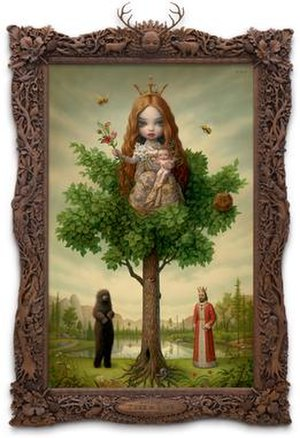 Lowbrow (art movement) - The Tree of Life (2007) by Mark Ryden