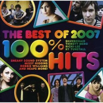 100% Hits: The Best of 2007 - Image: 100 Hits Best Of 2007
