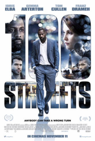 100 Streets - British release poster