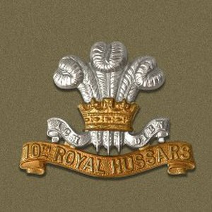 10th Royal Hussars - Image: 10th Royal Hussars Badge