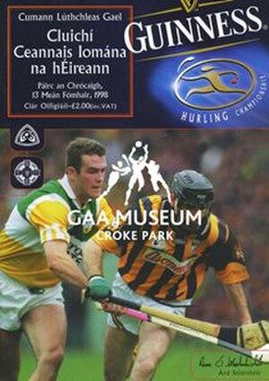 1998 All-Ireland Senior Hurling Championship Final - Image: 1998 All Ireland Hurling