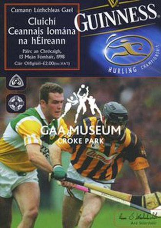 1998 All-Ireland Senior Hurling Championship Final - Image: 1998 All Ireland Hurling