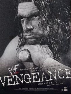 Vengeance (2001) 2001 World Wrestling Federation pay-per-view event