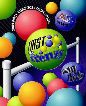 FIRST Frenzy: Raising the Bar - Image: 2004 FRC Cover