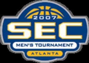 2007 SEC Men's Basketball Tournament - 2007 Tournament logo