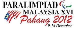 2012 Malaysian Paralympiad - Image: 2012 Malaysia Para Games Logo