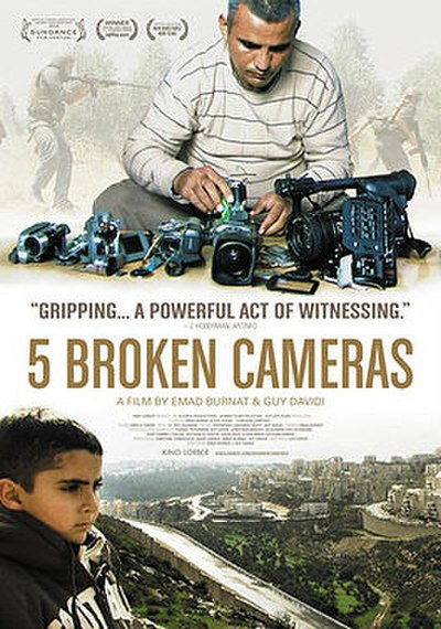 Picture of a movie: 5 Broken Cameras