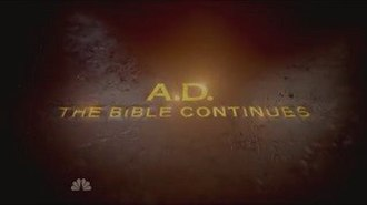 A.D. The Bible Continues - Image: AD The Bible Continues Title Card