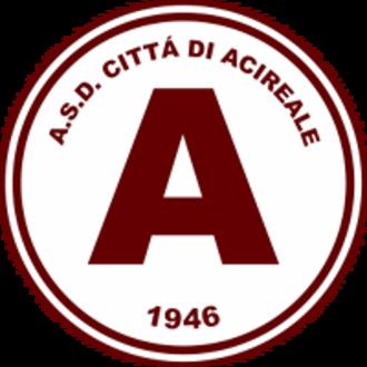 S.S.D. Acireale Calcio 1946 - Image: AS Acireale logo