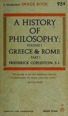 A History Of Philosophy Copleston