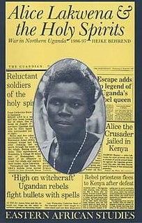 Alice Auma Ugandan rebel