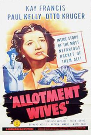 Allotment Wives - Theatrical release poster