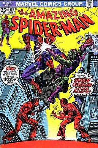Harry Osborn - Image: Amazingspider 136