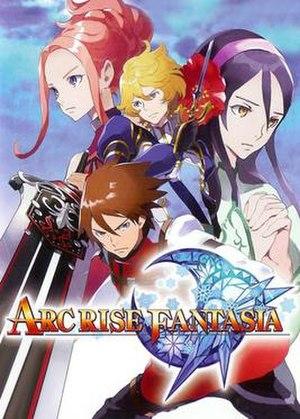 Arc Rise Fantasia - Image: Arf wii