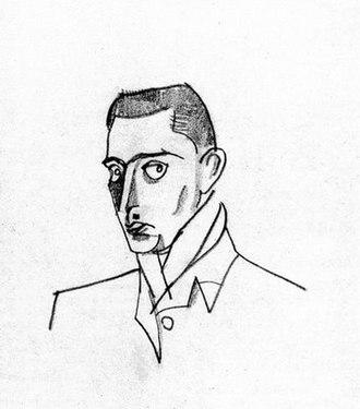 Jean Hugo - Autoportrait, 1918
