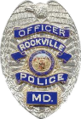 Badge of a Rockville City Police Department officer.png
