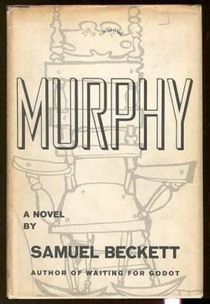 Murphy (novel) - 1957 Grove Press edition cover of Murphy.
