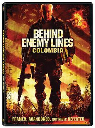 Behind Enemy Lines: Colombia - DVD cover