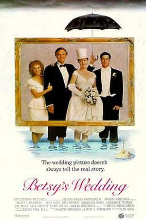 Betsy's Wedding - Theatrical release poster