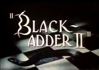 Blackadder II - Title screen of Blackadder II