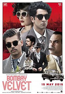 <i>Bombay Velvet</i> 2015 film by Anurag Kashyap