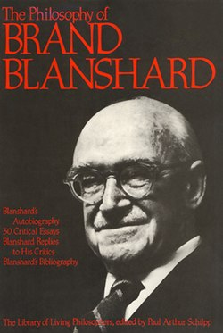Brand Blanshard Lib of Living Philosophers volume.jpg