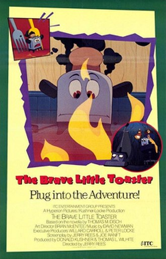 The Brave Little Toaster - UK release poster