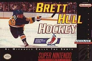 <i>Brett Hull Hockey</i> 1994 ice hockey video games