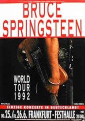 Bruce Springsteen 1992 1993 World Tour