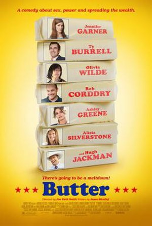 Butter (2011 film) - Theatrical release poster