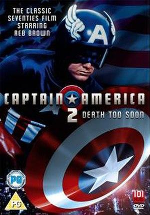 Captain America II: Death Too Soon - DVD cover