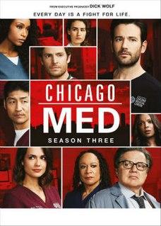 <i>Chicago Med</i> (season 3) Season of television series
