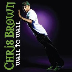Wall to Wall (song) - Image: Chris Brown Wall To Wall single cover