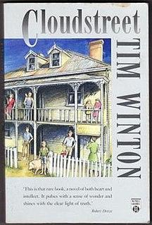 <i>Cloudstreet</i> Novel by Tim Winton