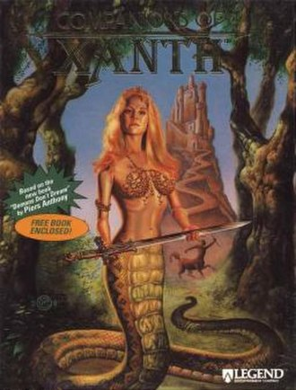 Companions of Xanth - Image: Companions of Xanth cover