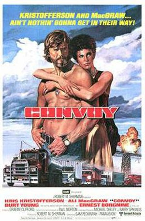 Convoy (1978 film) - Theatrical release poster