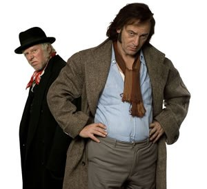 The Curse of Steptoe - Phil Davis and Jason Isaacs recreating the roles of Steptoe and Son