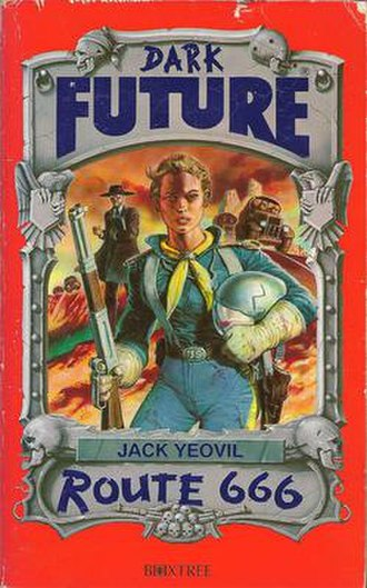 Dark Future - Cover of Route 666, original printing.