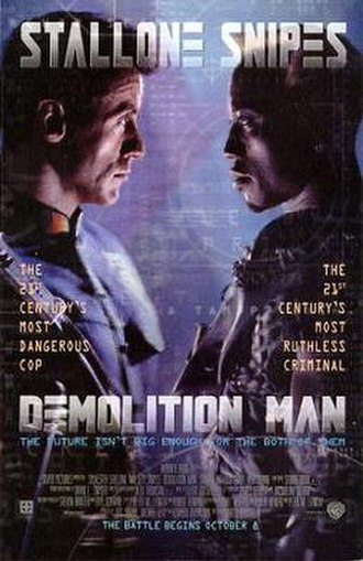 Demolition Man (film) - Theatrical release poster