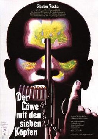 The Lion Has Seven Heads - German poster