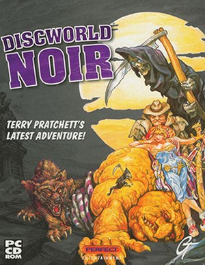 Discworld Noir - The game's cover features original work by Discworld novel cover artist Josh Kirby.