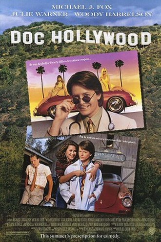 Doc Hollywood - Theatrical release poster