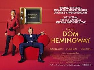 Dom Hemingway - UK release poster