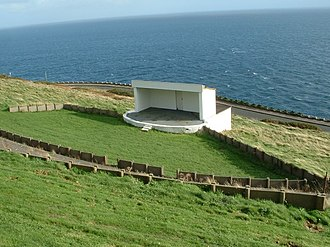 Douglas Head - The amphitheatre remains in situ but has been unused for many years