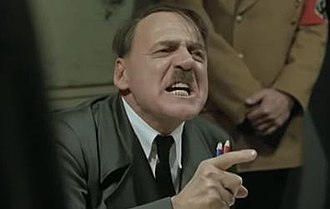 Downfall (2004 film) - The scene in the film that depicts Hitler experiencing anger after Steiner fails his orders became a viral video after numerous parodies were posted to the internet