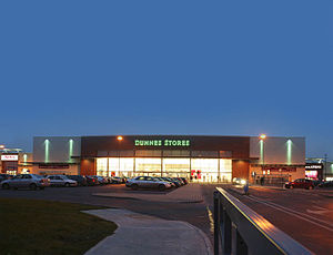 Childers Road Retail Park - Image: Dunnes Stores at the Childers Road Retail Park