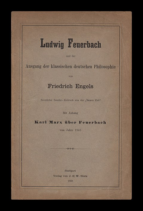 thesis on feuerbach analysis
