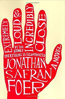 <i>Extremely Loud & Incredibly Close</i> novel by Jonathan Safran Foer